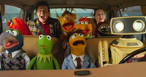 The Muppets get the gang back together.