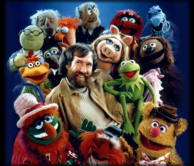 The Muppets with creator Jim Henson
