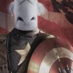 Sam The Eagle as Captain America